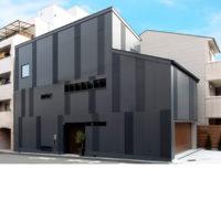大阪市中央区 | 上町の黒い家 | 新築工事